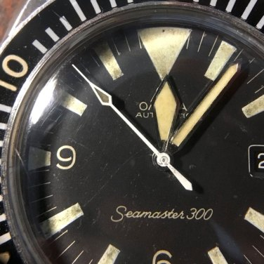 OMEGA Seamaster 300, réf. 166.024. Crédit : Fred Chrono.