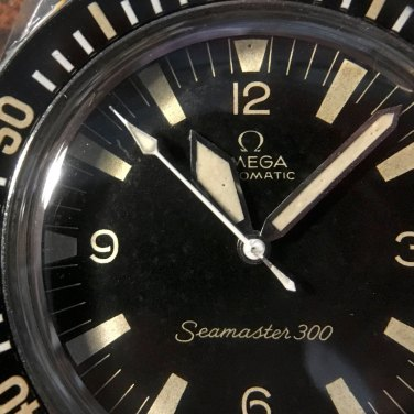 OMEGA Seamaster 300, réf. 165.024. Crédit : Fred Chrono.