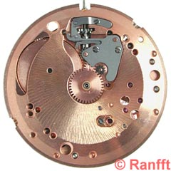 OMEGA, calibre 552-1. Crédit : Ranfft.