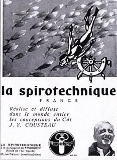 LA SPIROTECHNIQUE - Publicité, circa 1960.