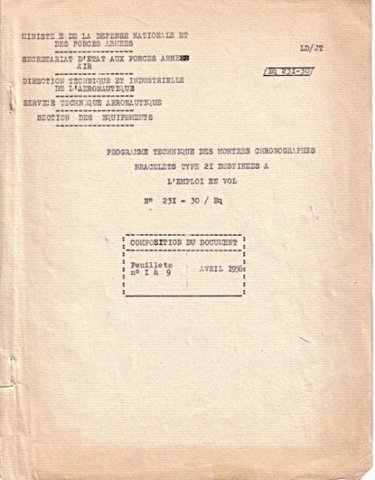 TYPE 21 Cahier des charges - Img 01