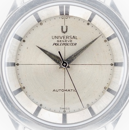 UNIVERSAL GENEVE Polerouter cadran - Img 01
