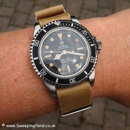 TUDOR Submariner 94110, assignée M.N., 1980. Crédit : Sweeping Hand.