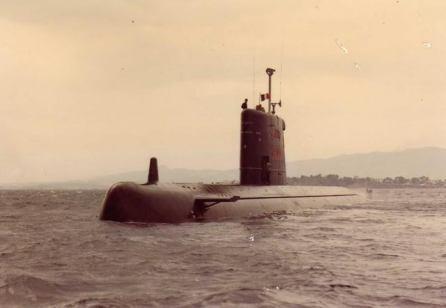 Sous-marin Agosta.