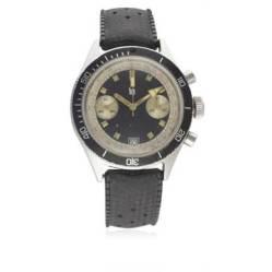 (Lot 19) LIP, chronographe étanche, cal. Valjoux 7734.