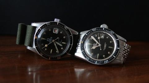 TITUS Calypsomatic 5913 I (à gauche) et 7840 (à droite).