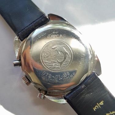 Chronographe 2342, cal. Valjoux 72, circa 1970