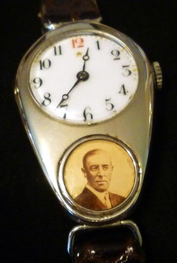 "ENICAR, montre ""patriotique"", circa 1914."