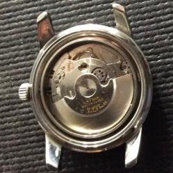 LATHIN, montre de plongée type Compressor, circa 1960.