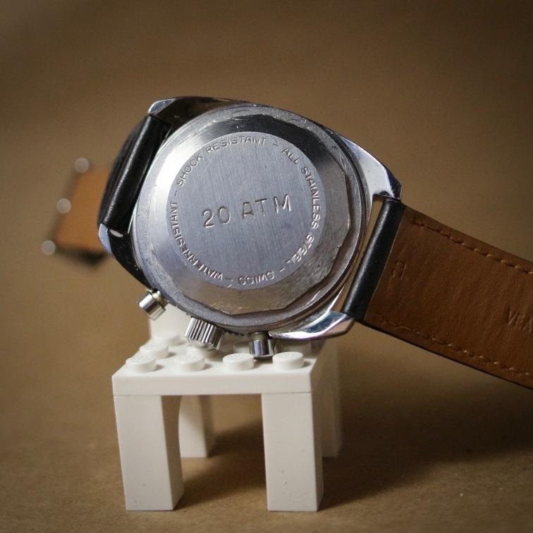 Chronographe de régate, cal. Valjoux 7733, circa 1970.