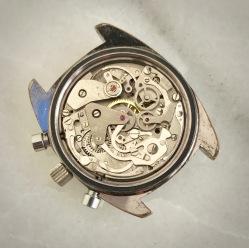 LANCO, chronographe Valjoux 7733.