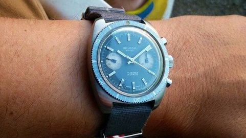 ORIOSA, chronographe Valjoux 773X
