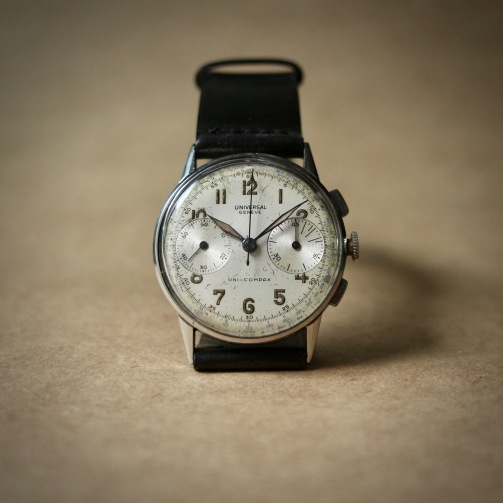 Chronographe Uni-Compax, cal. UG 285, circa 1945.