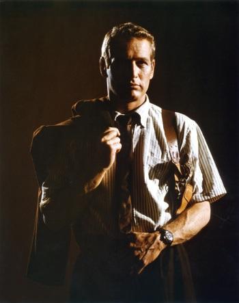 WALTHAM Bathyscaphe au poigner du détective privé Harper dans le film éponyme, 1966.