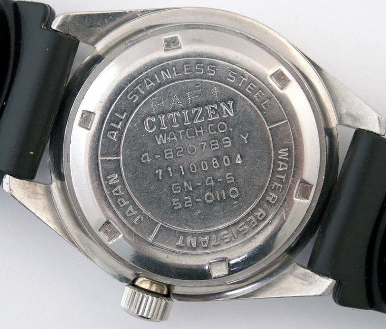 CITIZEN 150m réf. 52-0110 PAF