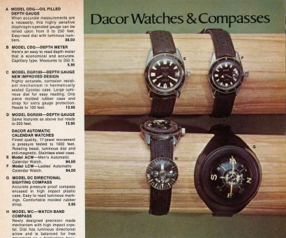 DACOR : catalogue, circa 1970.