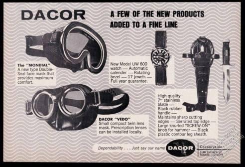 DACOR : catalogue.