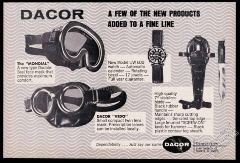 DACOR : catalogue.
