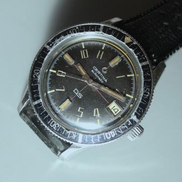 CERTINA DS réf. 5801 113 : cadran type 2.