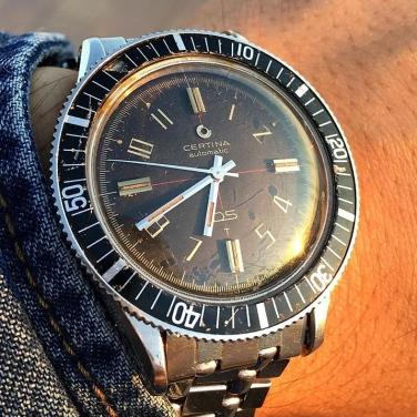 CERTINA DS réf. 5601 113, circa 1964.