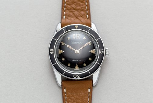 WALTHAM Bathyscaphe type I/A, circa 1958.