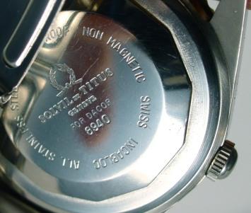"TITUS Calypsomatic, réf. 8940 ""DACOR""."