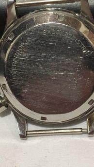 CROTON Chronomaster, cal. Valjoux 23, circa 1965.