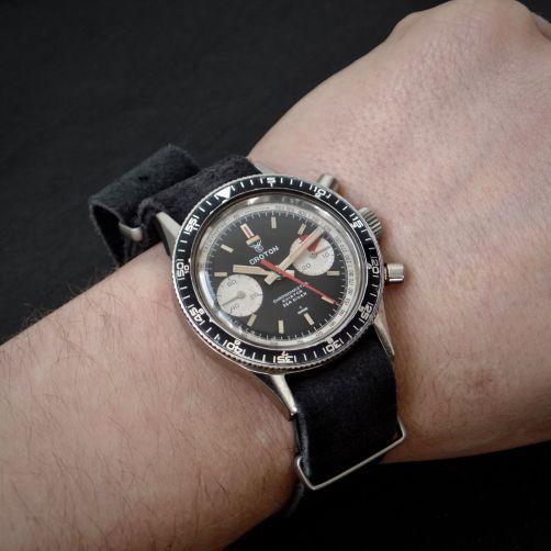 CROTON Chronomaster, cal. Landeron 248, circa 1970.