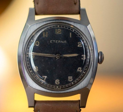 ETERNA type Majetek, cal. 852S, circa 1947.