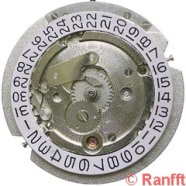 CITIZEN, cal. 1160C, 39 rubis.