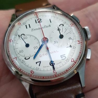 EXCELSIOR PARK, chronographe décimal.