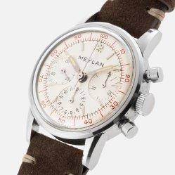 MEYLAN chrono décimal cal. Lemania 2520 circa 1966 - Img SSong 02