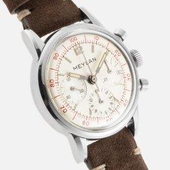 MEYLAN chrono décimal cal. Lemania 2520 circa 1966 - Img SSong 03