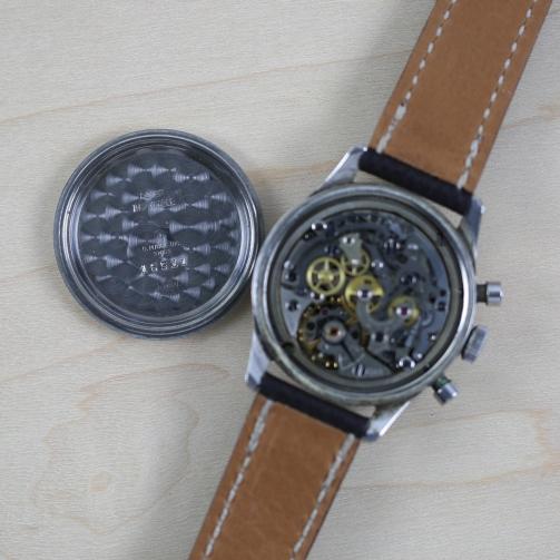 MEYLAN / OTTO MAIRE chronographe décimal.