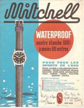 MITCHELL, publicité, circa 1965.
