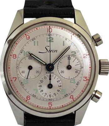 SINN chronographe décimal, cal. EP 40-68.