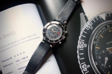 NIVADA GRENCHEN Chronomaster Aviator Sea Diver, cal. Valjoux 92.