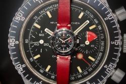 NIVADA GRENCHEN, Chronomaster Aviator Sea Diver, cal. Valjoux 23.