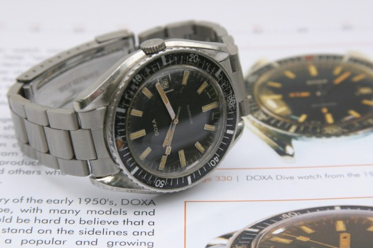 DOXA Shark-Hunter, circa 1965.