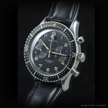 "ZENITH, chronographe CP-2 ""A. Cairelli"", cal. Valjoux 222."