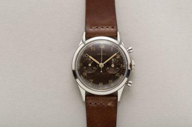 ZENITH chronographe armée de l'Air yougoslave, cal. EP 143-6, circa 1950.