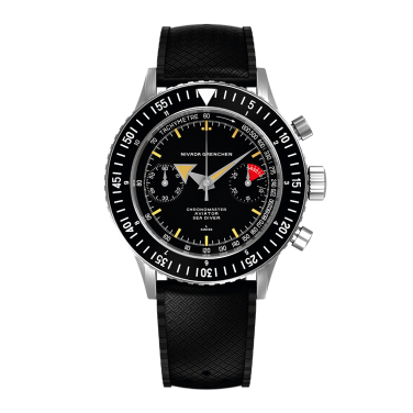 NIVADA Chronomaster Aviator Sea Diver 2020, type Broad Arrow.